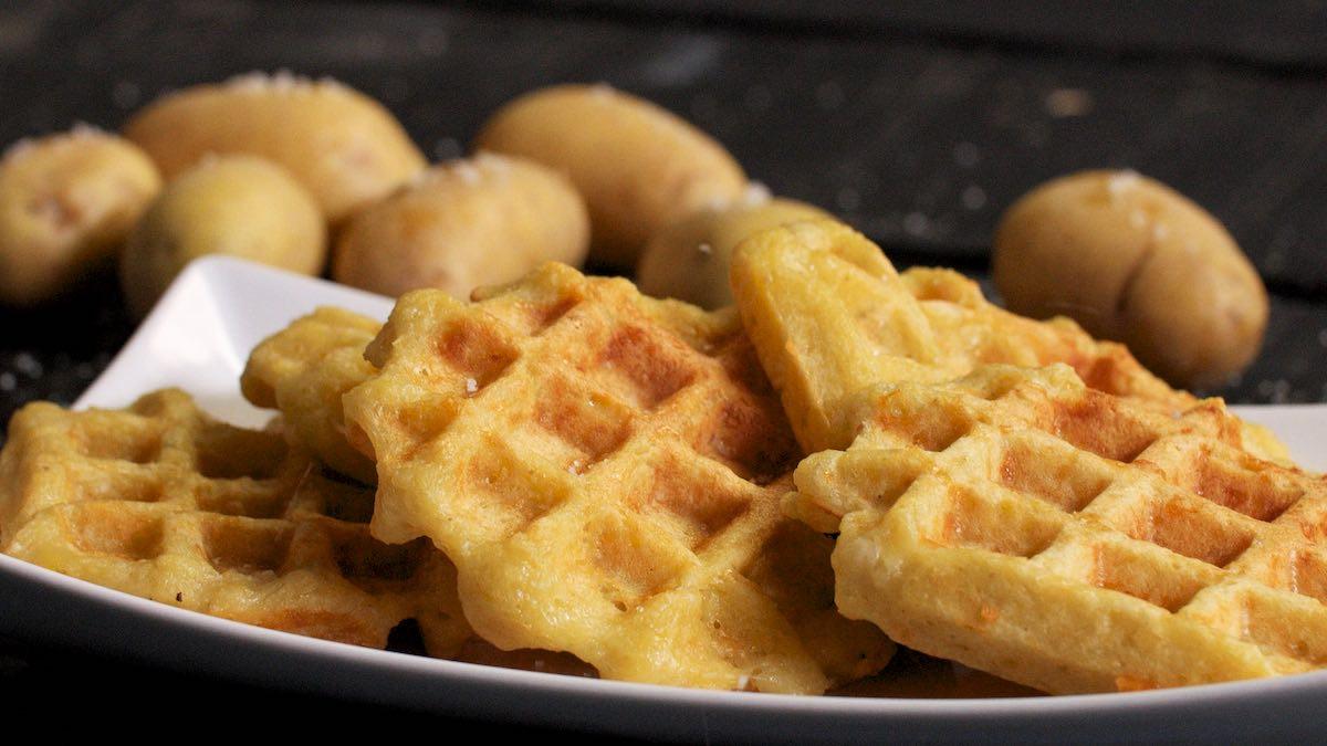 Gaufres aux pommes de terre