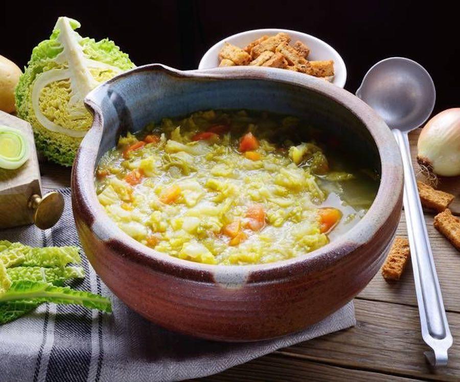Recette Soupe aux choux a l'ancienne