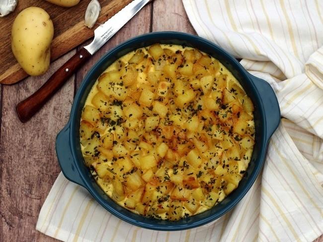 Recette Gratin de poulet et pommes de terre
