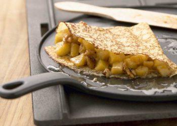 L'étonnante recette des crêpes tarte aux pommes