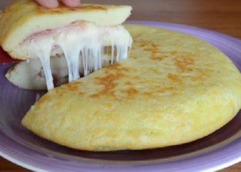 L'omelette De Patate à L' Italienne