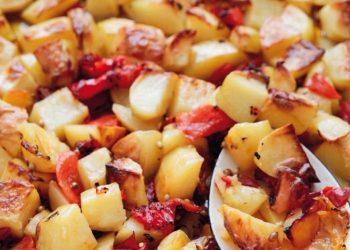 pommes de terre au poivron au four