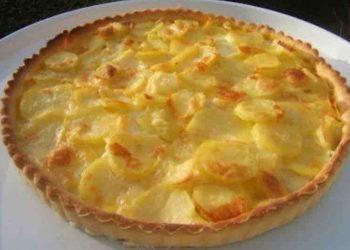Tarte omelette pommes de terre