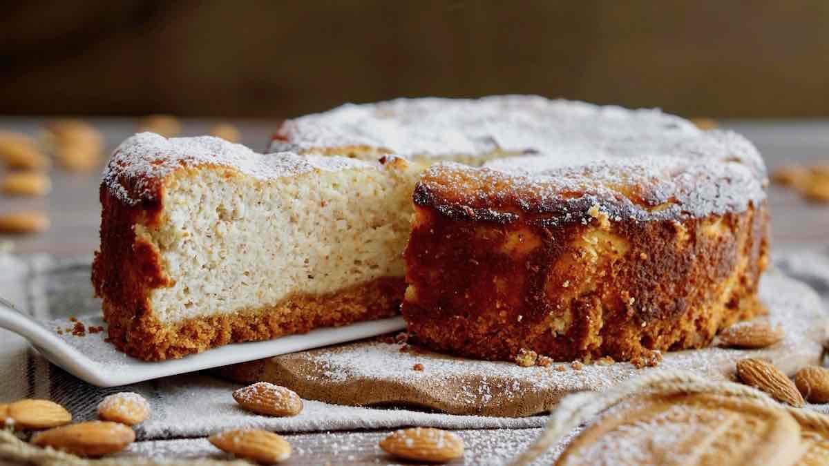 cheesecake aux amandes et mascarpone