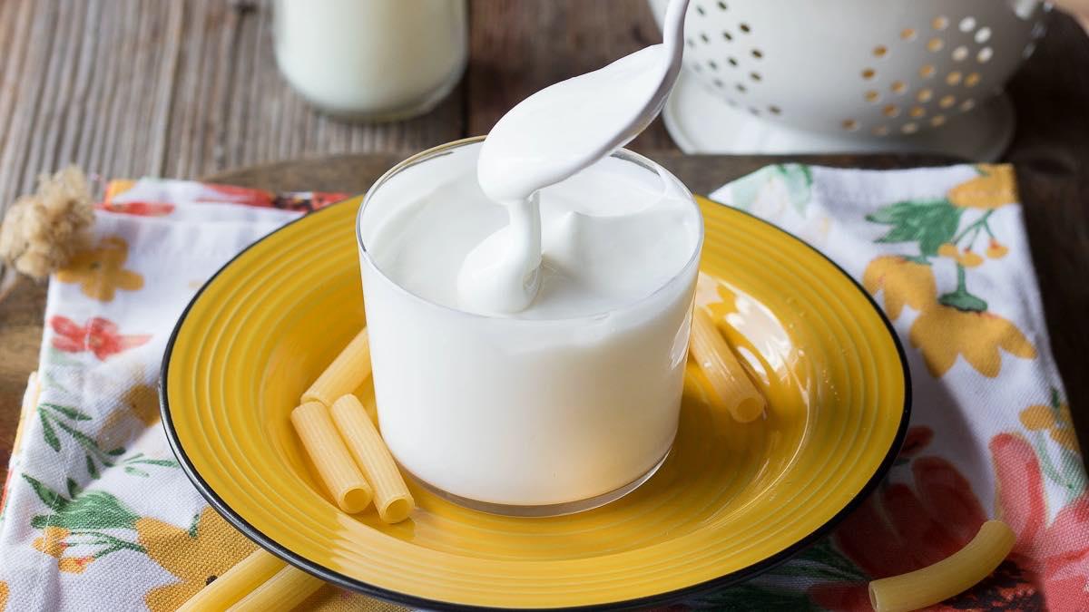 Crème idéale pour les plats salés