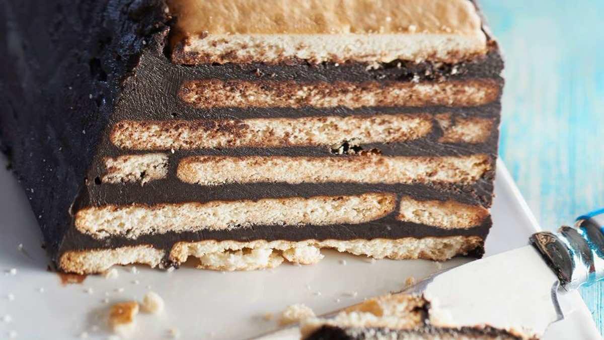 Gâteau au chocolat petit beurre