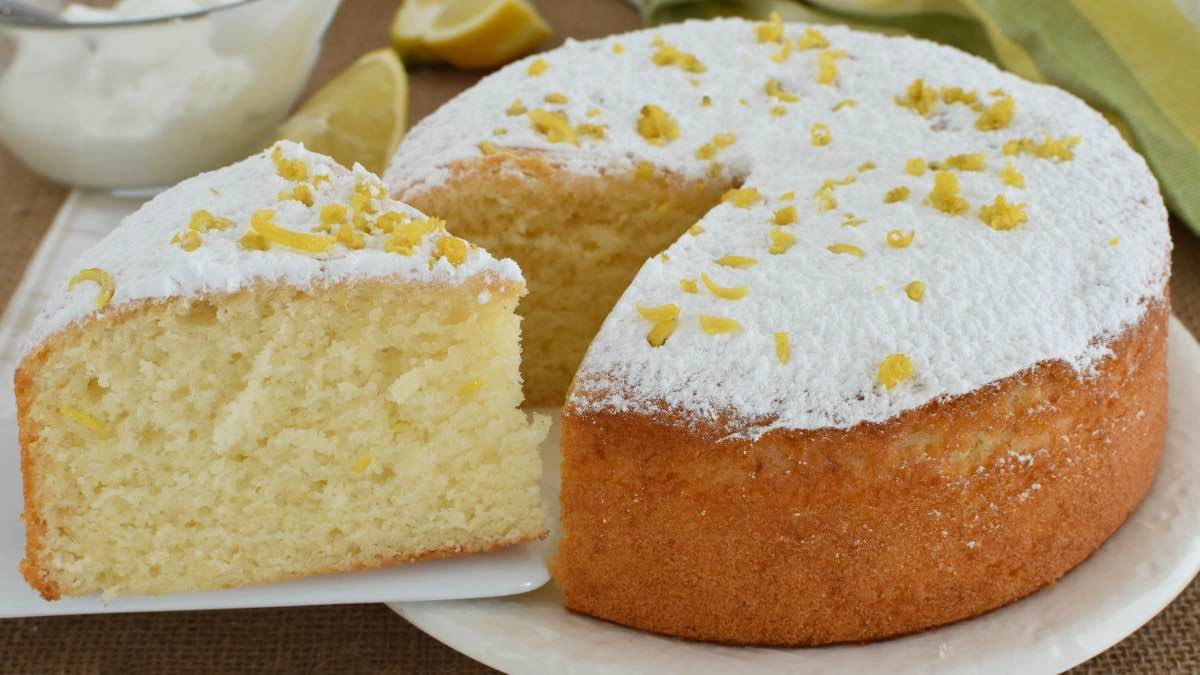 Gateau au yaourt et citron cyril lignac