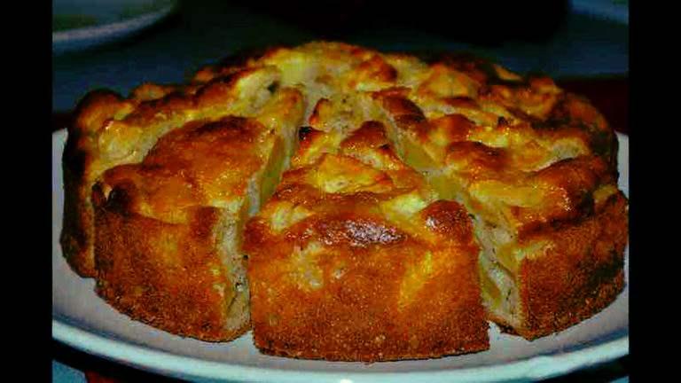 Gâteau aux pommes facile