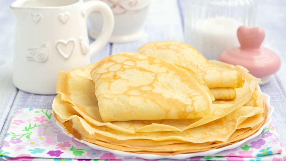 Pâte à Crêpes sans beurre