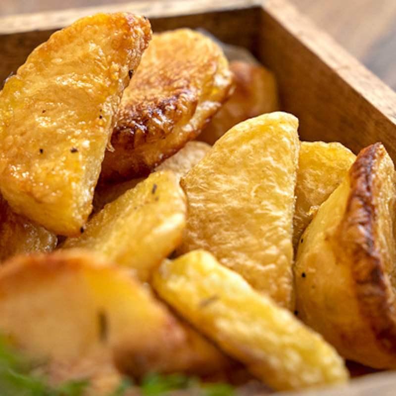 Pommes de terre au four croquantes