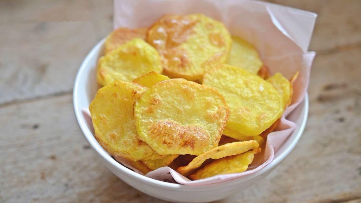 Pommes de terre au four légères et croustillantes