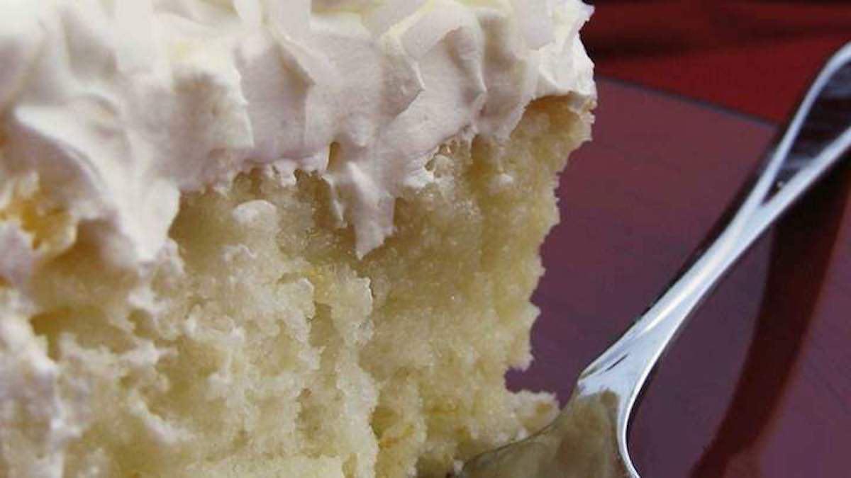 gâteau troué