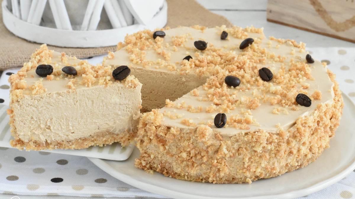 gâteau au café sans cuisson