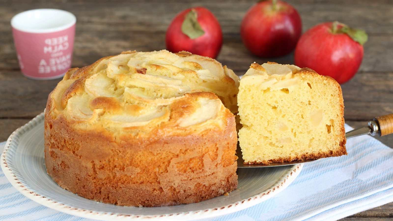 Recette gâteau aux pommes au mascarpone de cyril lignac