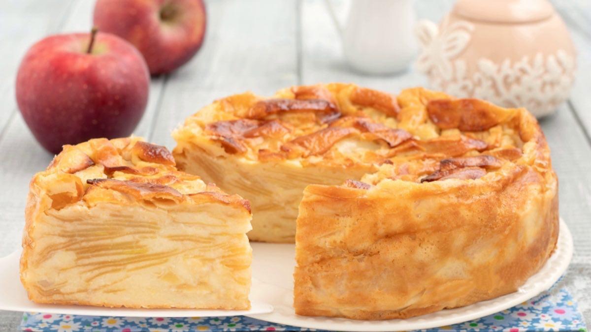 gâteau invisible aux pommes cyril lignac