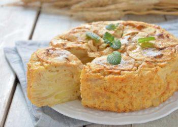 Gâteau invisible aux pommes de Cyril Lignac inratable