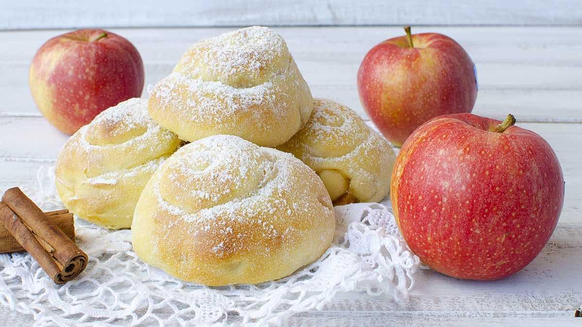 Pâte à brioche aux pommes facile