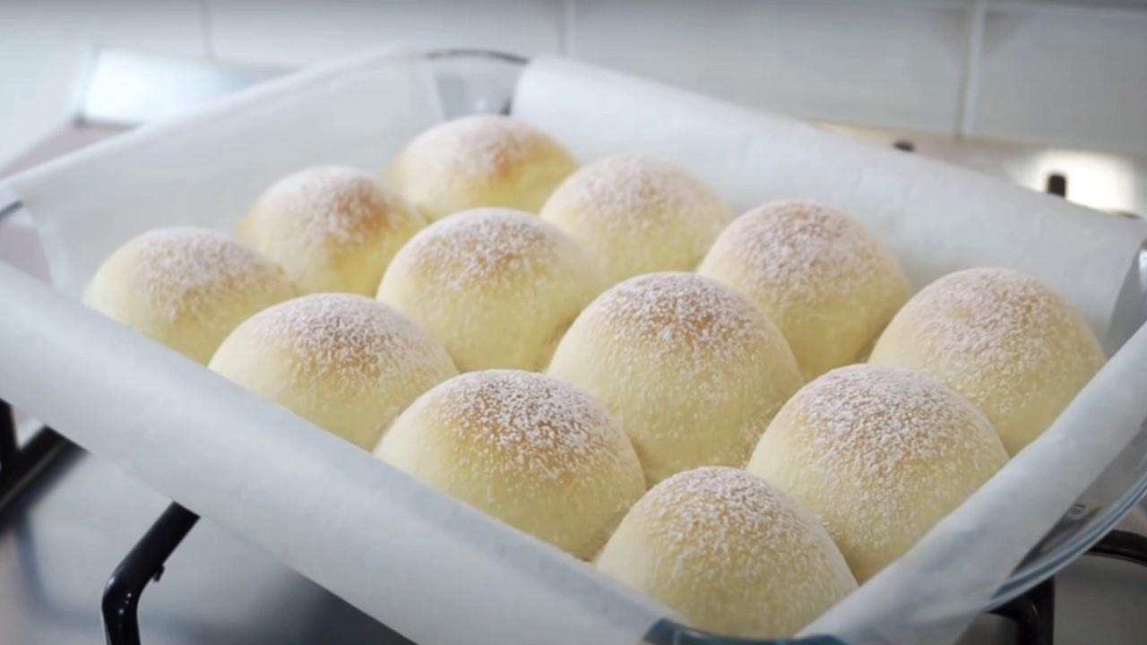 Petits pains au lait maison de grand-mère