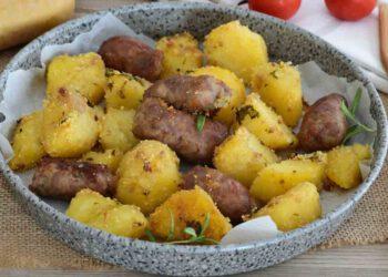 recette pomme de terre et saucisse au four