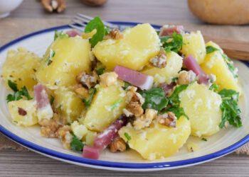 salade de pommes de terre et jambon Apéritif