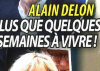 Alain Delon: Plus que quelques semaines à vivre! Les révélations