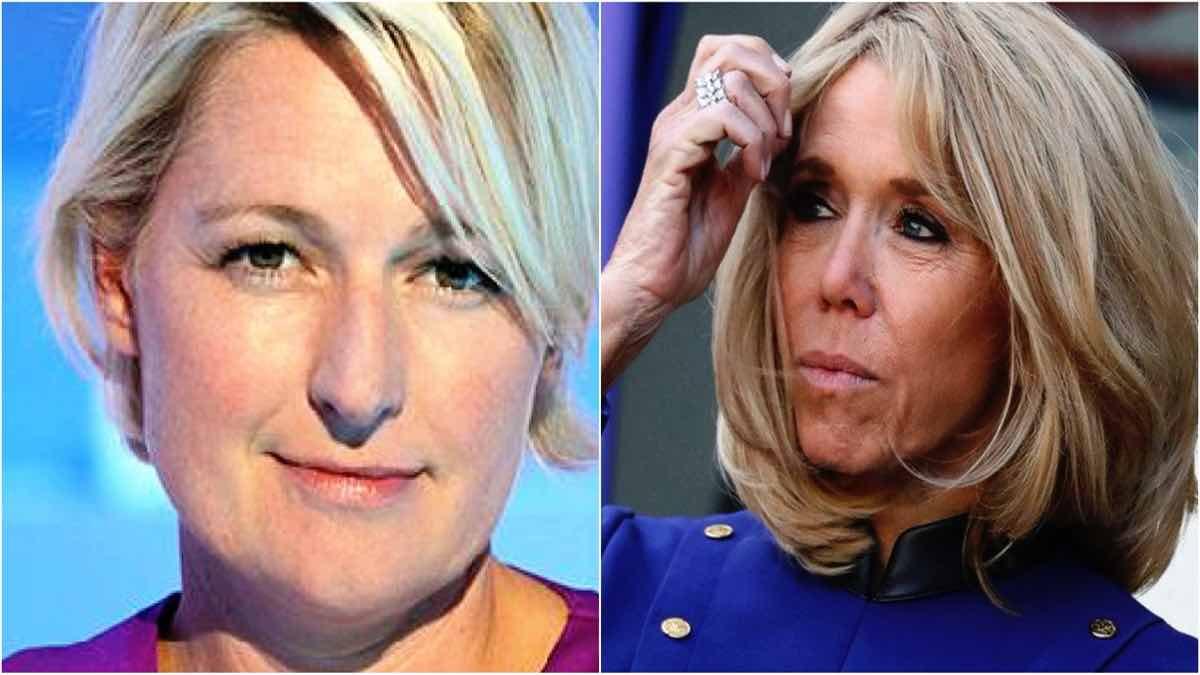 Brigitte Macron attaquée par Anne-Élisabeth Lemoine, pour un motif stupéfiant!