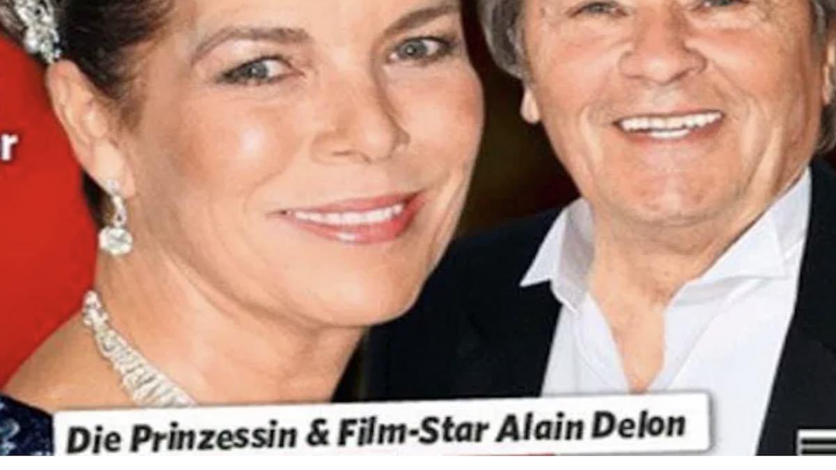 Caroline de Monaco – proche d'Alain Delon – son mari voit rouge