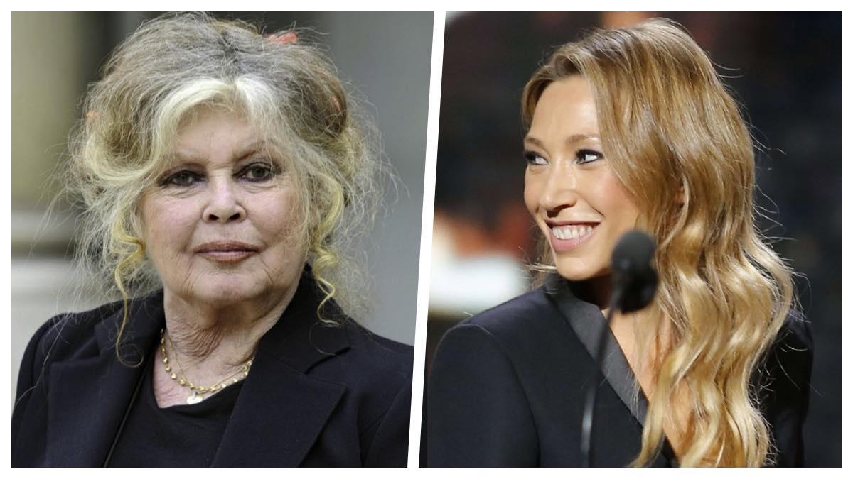 Brigitte Bardot et Laura Smet main dans la main contrent le monde entier