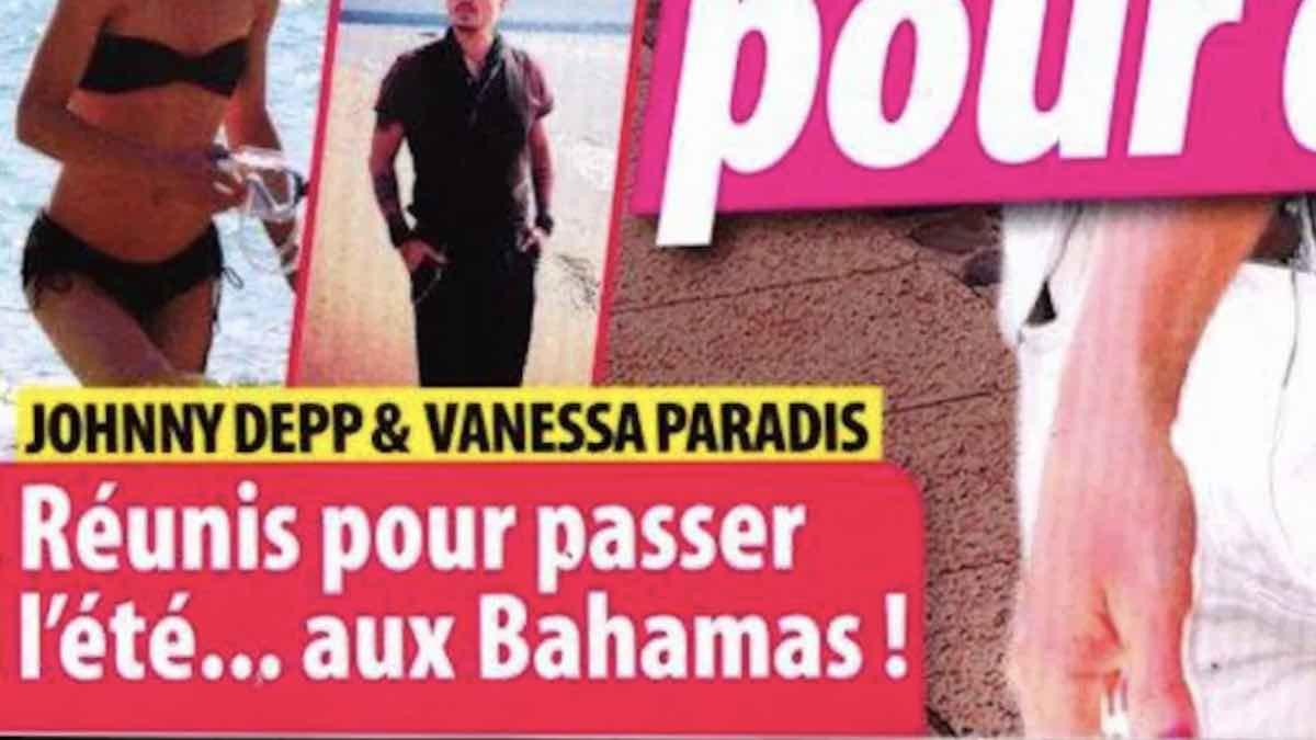 Johnny Depp Vanessa Paradis réunis pour passer l'été aux Bahamas