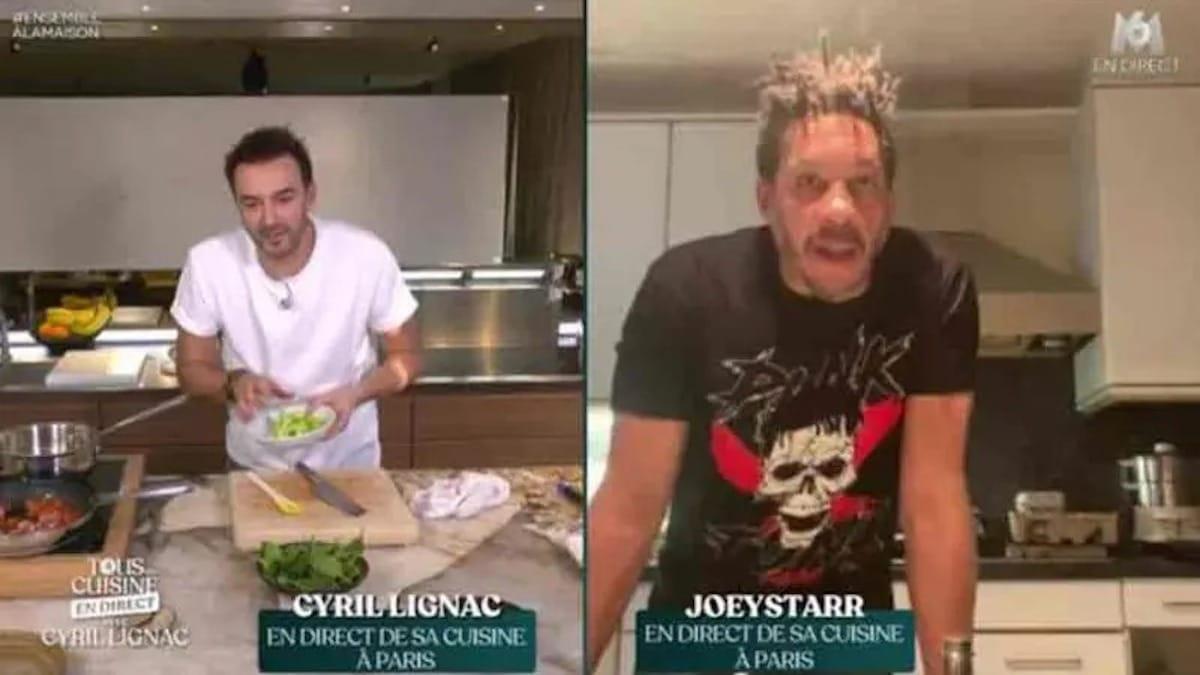 « Tous en cuisine » : Joey Starr s'emporte contre Cyril Lignac