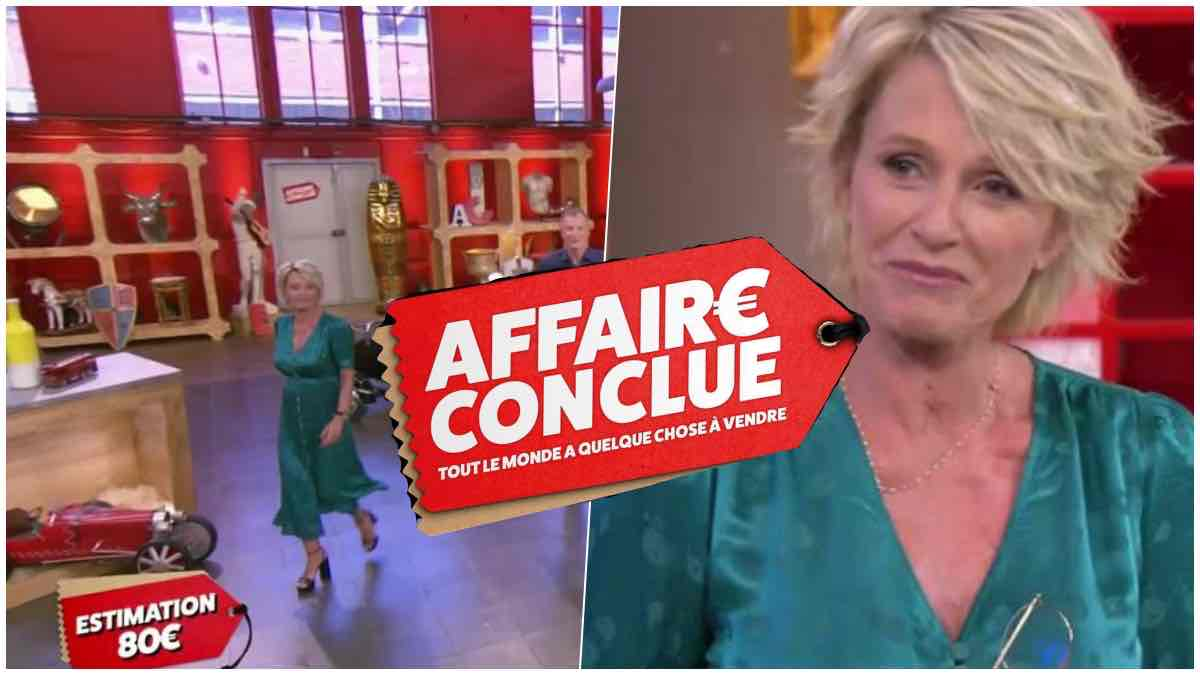 UN ACHETEUR TRICHE PENDANT LE TOURNAGE D'AFFAIRE CONCLUE, LA RÉACTION DE SOPHIE DAVANT CHOQUE LE PUBLIC
