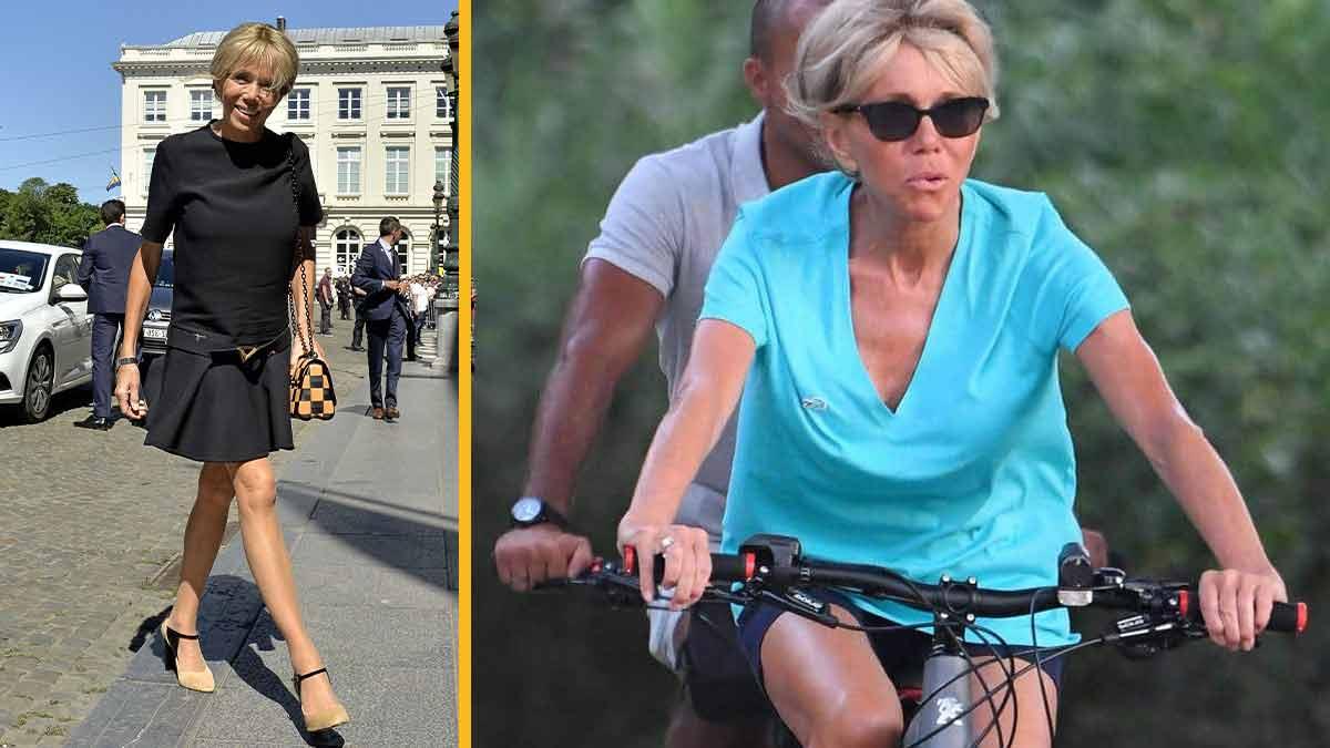 Brigitte Macron en short ? Sa tenu sexy fait jaser la toile !