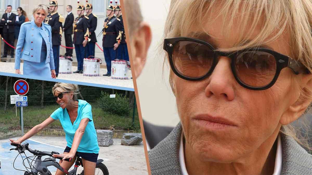 Brigitte Macron tombe le bas ! Une petite tenue hyper sexy en photo