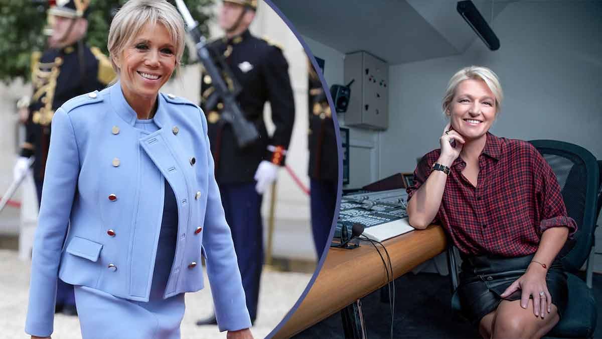 """C à vous"""": Anne-Elisabeth Lemoine invite Brigitte Macron ? Un programme surchargé !"""