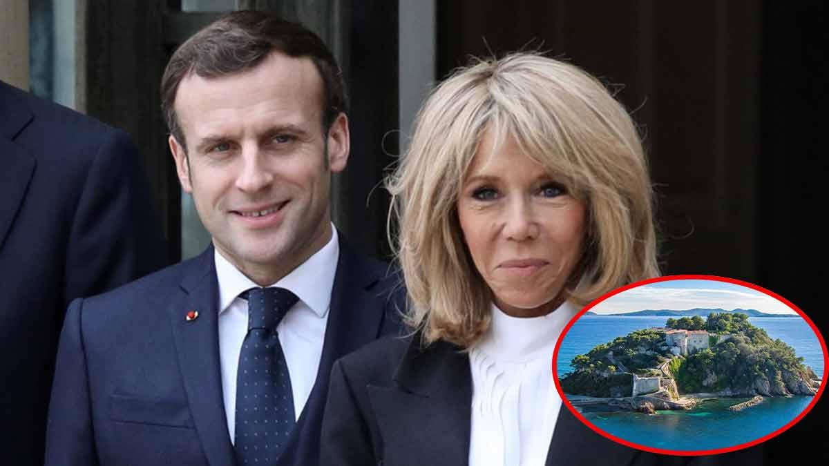 Emmanuel et Brigitte Macron, des vacances trop entourée ? Le Fort de Brégançon n'est pas « intime » !