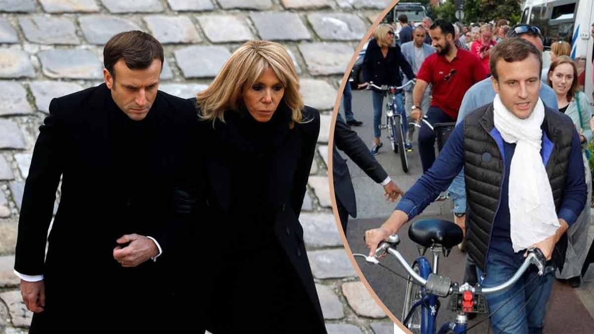 Emmanuel et Brigitte Macron dînent en amoureux ! Ils s'offrent une pizza dans un petit restaurant