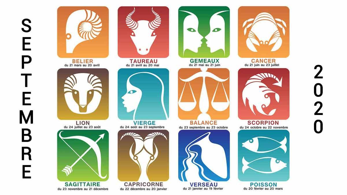 Horoscope Septembre 2020 : Découvrez les prévisions pour votre signe