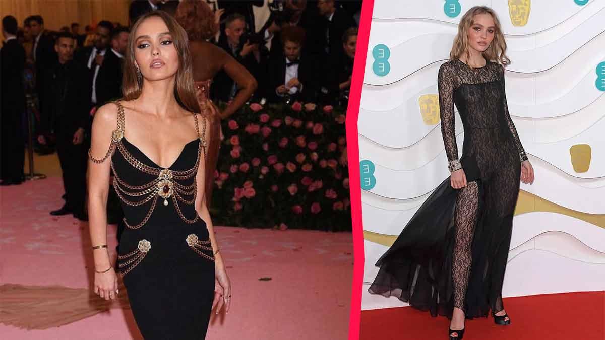 Lily-Rose Depp ultra sexy, aguicheuse et extravagante ? Une robe trop canon !