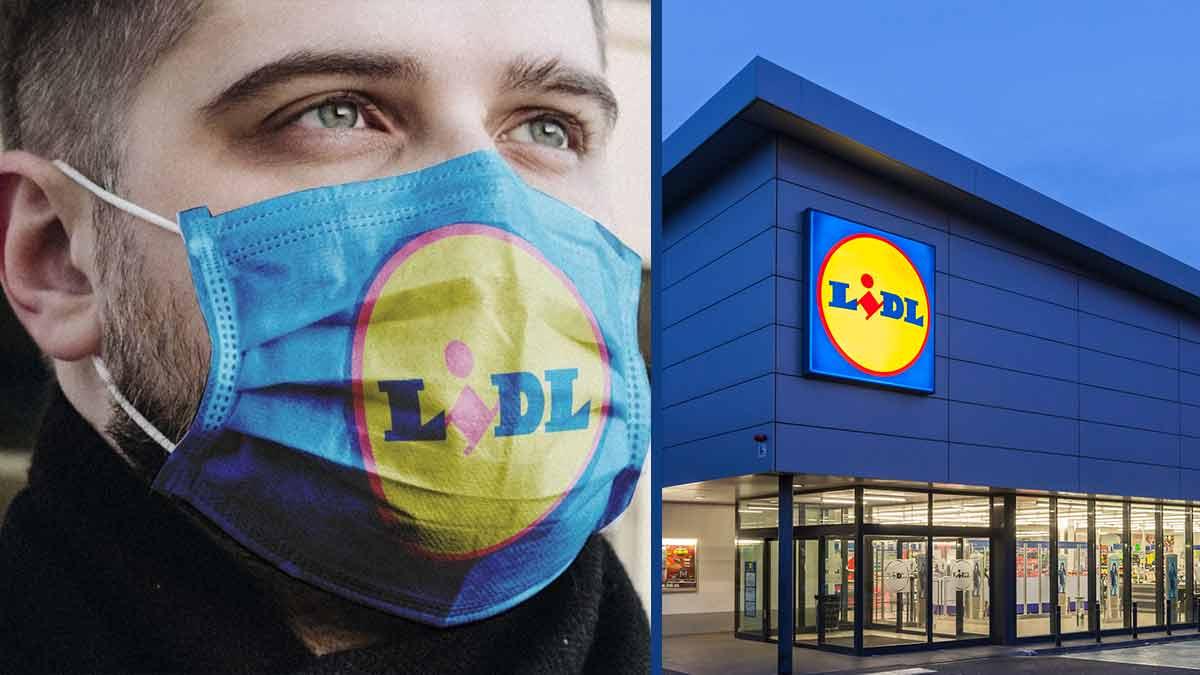 Magasin Lidl : un masque révolutionnaire à moindre coût !