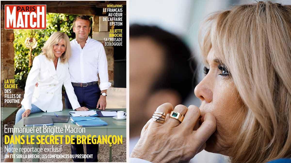 PHOTO INEDITE : Brigitte Macron incendiée sur Insta ! Un détail qui surprend les internautes !