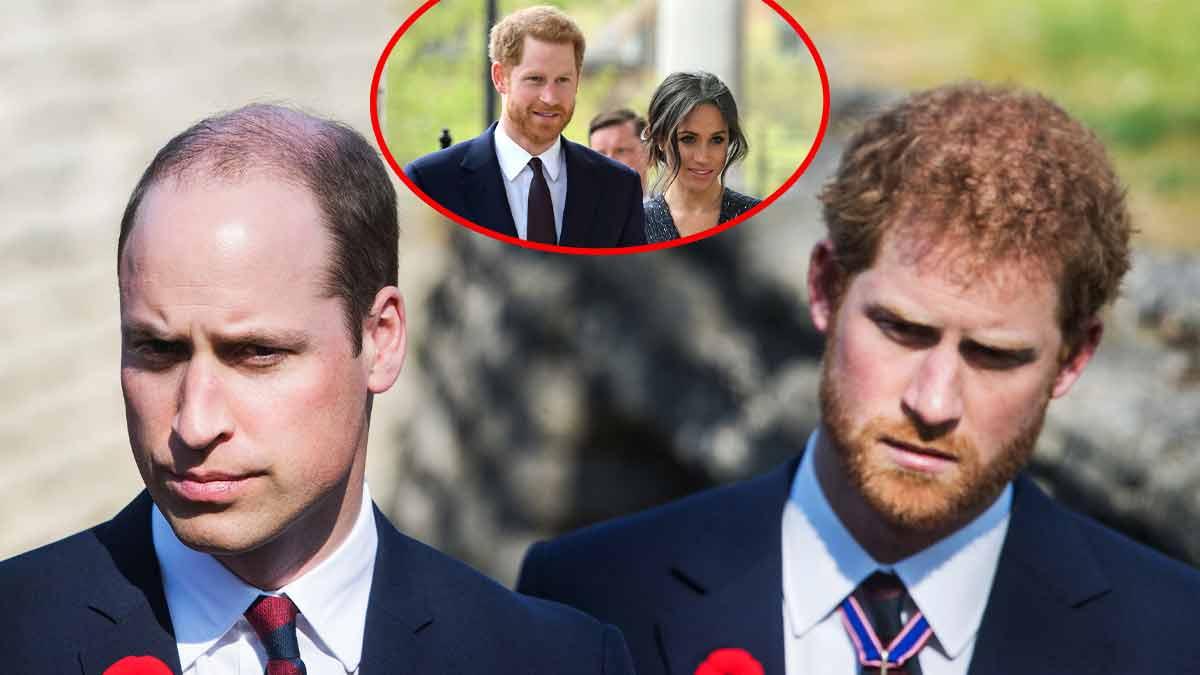 Prince Harry VS Prince William ! Meghan Markle au centre de la guerre !