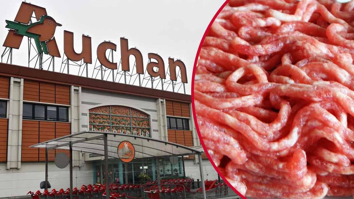 Auchan : un lot de viande rappelés ! Découvrez pourquoi !