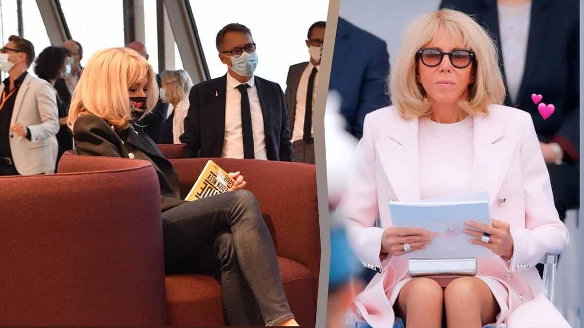 Brigitte Macron trop sexy ? Sa tenue du 14 juillet fait sensation !