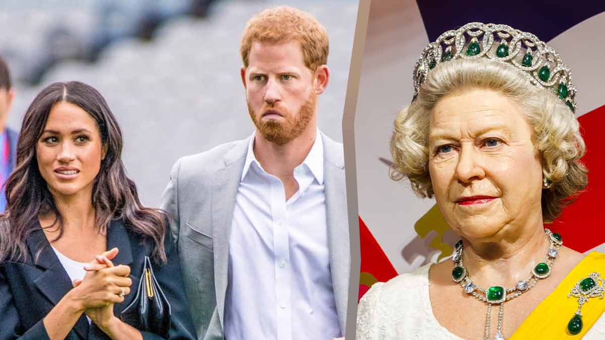 Elizabeth II débarque à Los Angeles ? Meghan et Harry en grand danger !