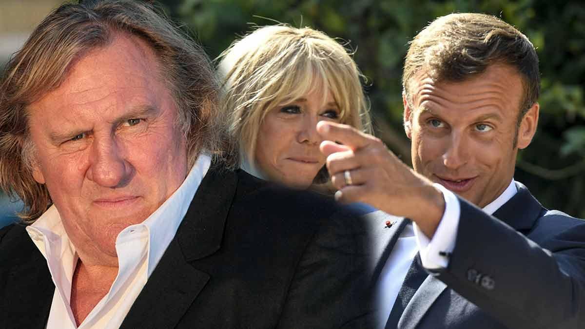 Gérard Depardieu dans TPMP : Révélations fracassantes sur Emmanuel Macron !