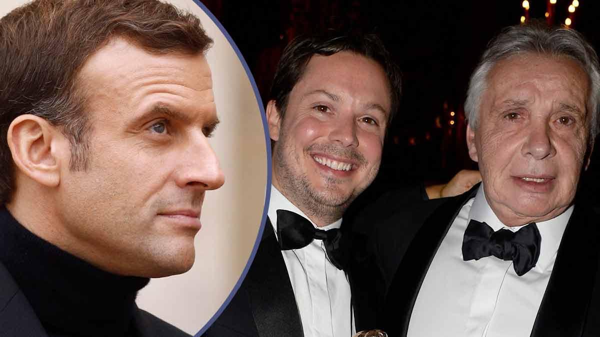 Gros coup de gueule : le fils de Michel Sardou attaque Emmanuel Macron