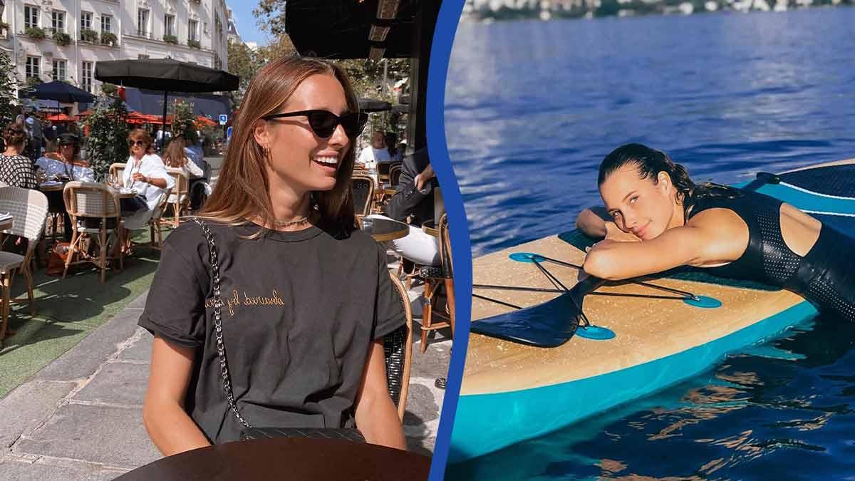 Ilona Smet nue, elle tombe le bas ! Cette photo plait aux internautes !