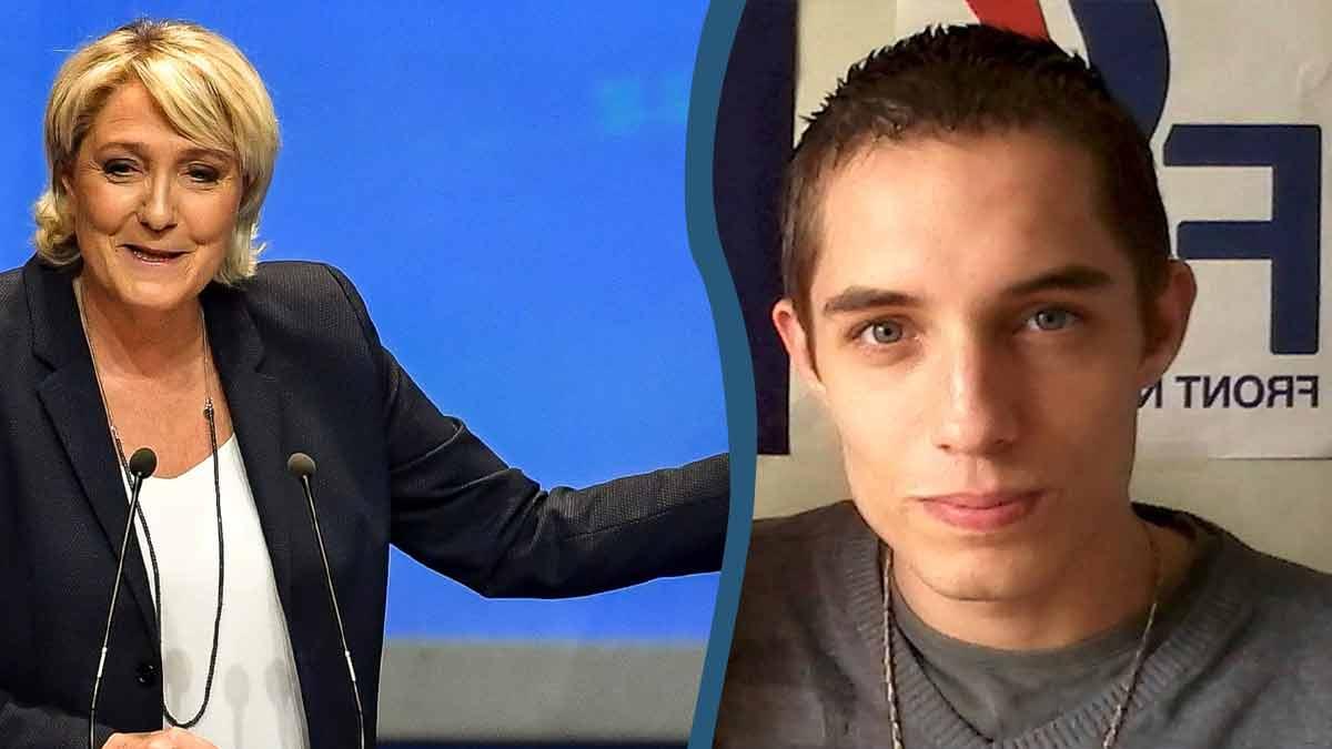 """Kévin Le Pen """"Antifa"""" ? Scandale pour Marine et Jean Marie !"""