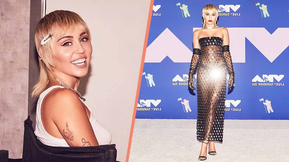 Miley Cyrus aux MTV VMA : Cette robe transparente laisse tout voir ! Photo inédite !