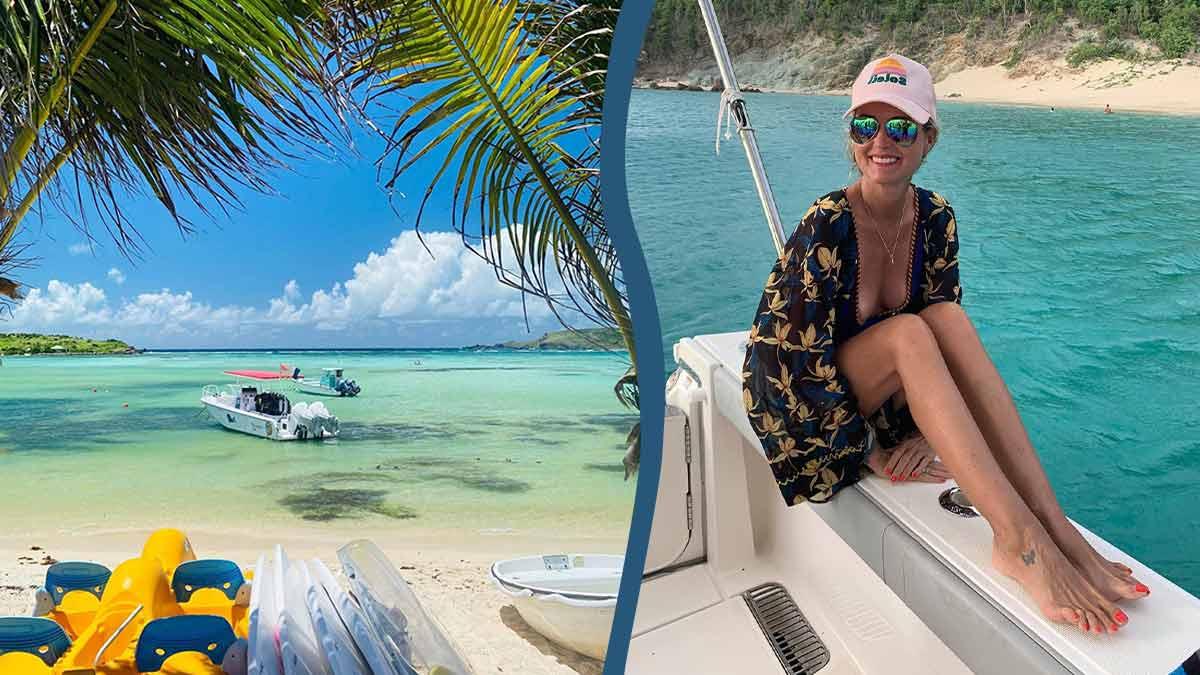 PHOTO INEDITE : Laeticia Hallyday dévoile sa poitrine ? Derniers clichés de vacances trop hot !
